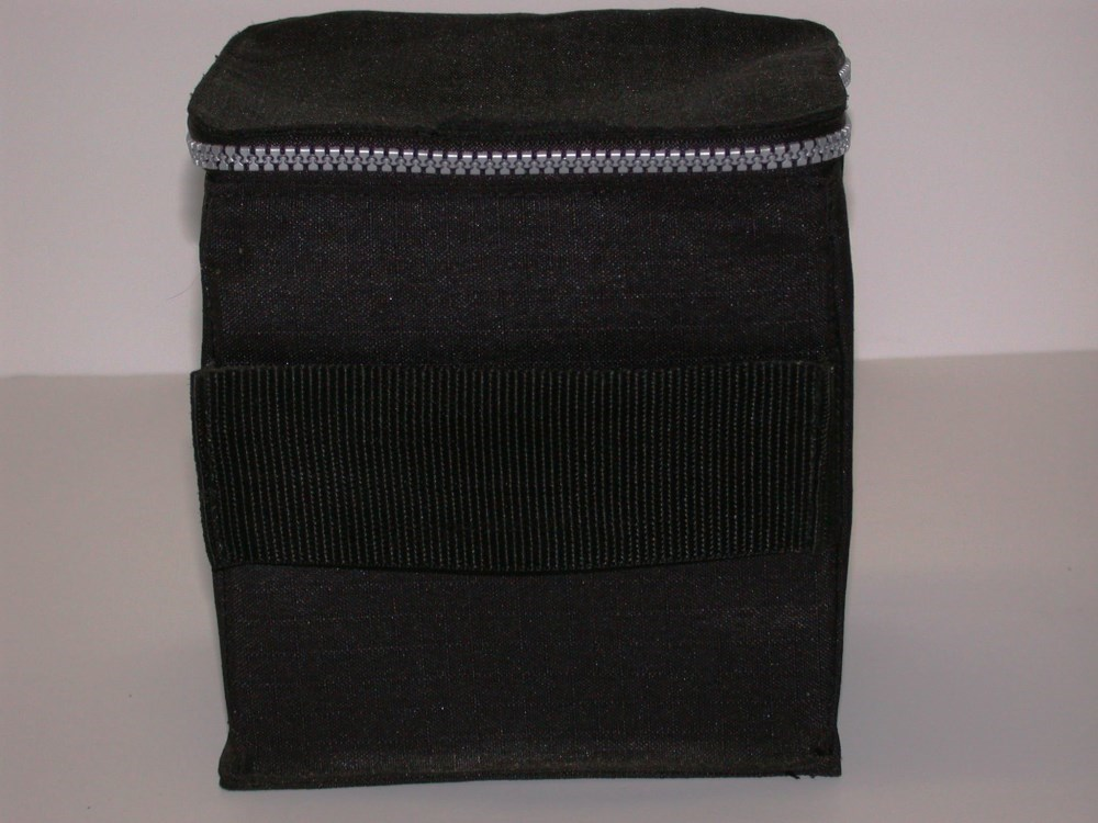 ikea black folding hard soft sided fabric zippered cd storage box 6 x 5 x 6 ebay. Black Bedroom Furniture Sets. Home Design Ideas