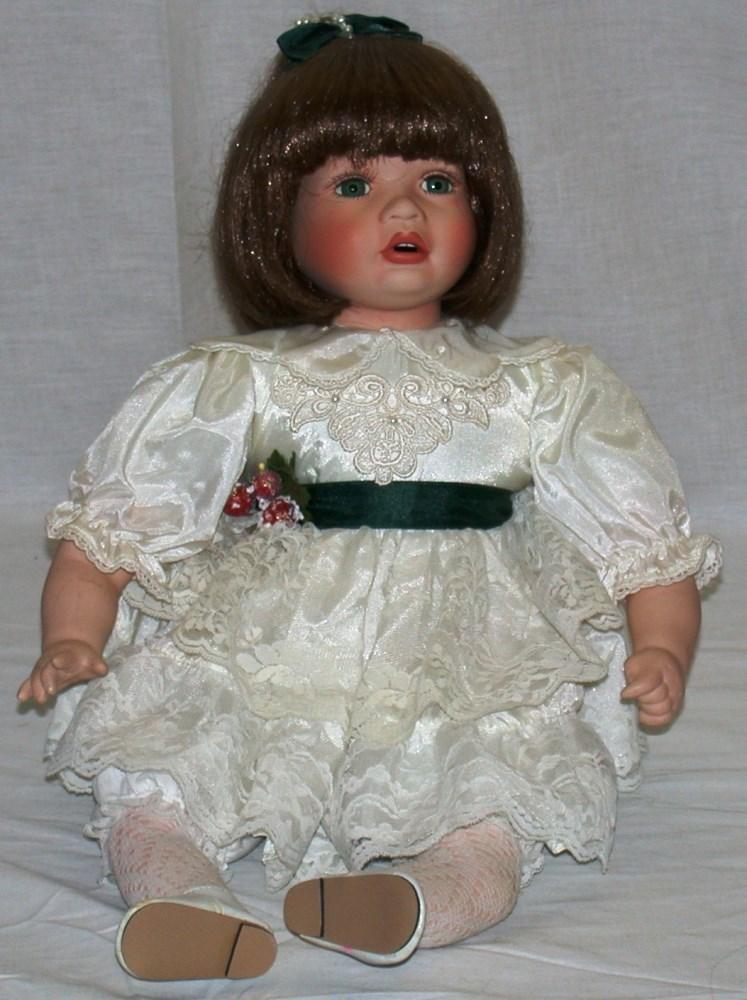 House Of Lloyd Porcelain Doll Kaetlyn Mikael 12 Tall