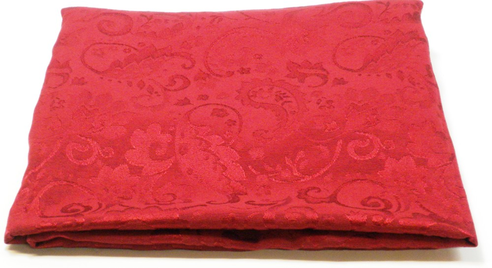Better Homes And Gardens Jaquard Oblong Tablecloth Red