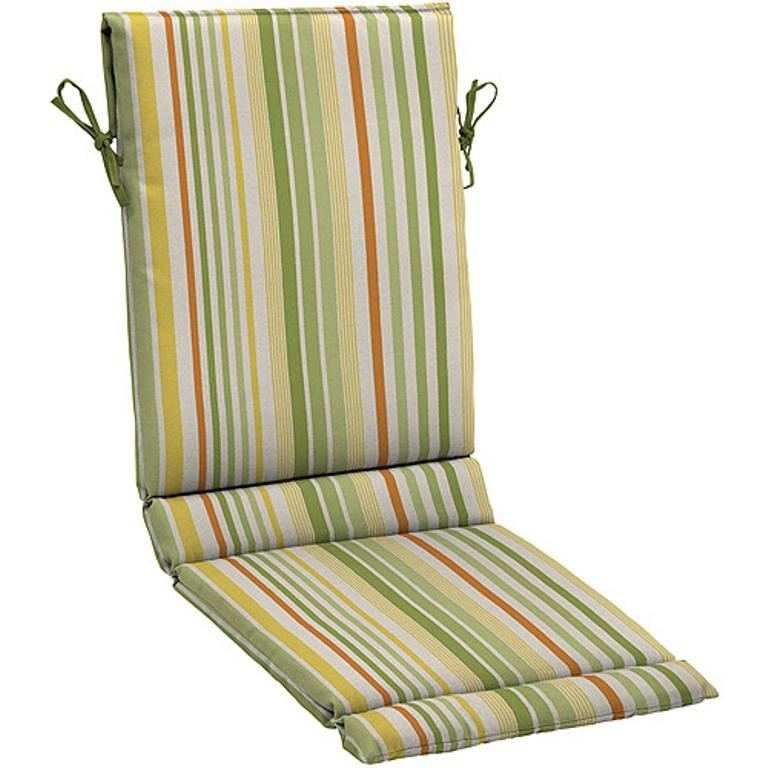 4 Outdoor Patio Sling Cushions Breton Green NEW