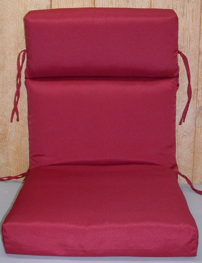 4 Chair Patio Set: (6) Outdoor Patio Chair Cushions